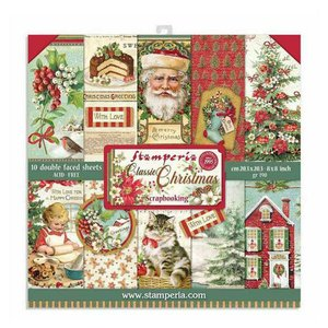 "Pad 8x8"" Stampería Christmas Classic"