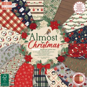 """Stack Premium 8x8"""" First Edition Almost Christmas"""