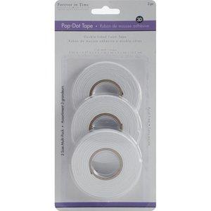 Set cintas adhesivas de foam 6, 9 y 12 mm de ancho