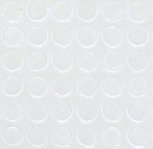 Stix2 Círculos de foam adhesivos 10 mm dia x 2 mm 80 pcs