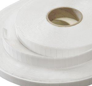 Stix2 Mega Value Roll Pads Foam doble cara 25x12x3 mm 2000 pcs