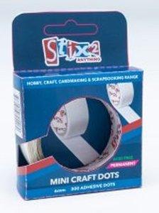 Stix2 Mini Craft Dots Permanentes en rollo 6 mm 300 pcs