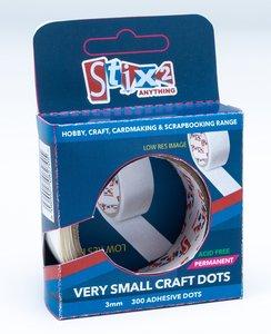 Stix2 Very Small Craft Dots Permanentes 3 mm 300 pcs