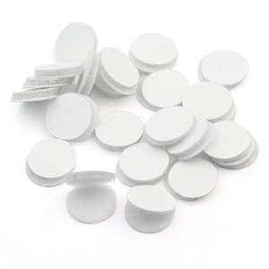 Stix2 Discos de velcro adhesivos 12 mm 60 pcs en rollos