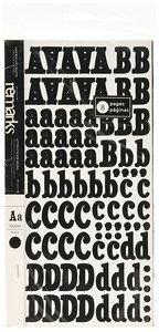 Alfabetos Sticker Book Iguana Black