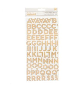 Thickers Chipboard Marquee Glitter Girl