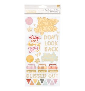 Thickers Frases Chipboard Be Bright