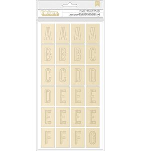 Thickers Foil Chipboard Template