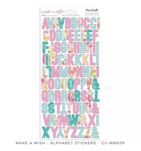 Alfabeto Make a Wish
