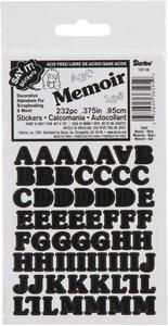 Alfabeto Black Memoir