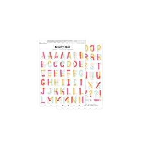 Alfabeto de Chipboard Lindsay