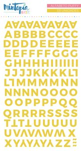 Alfabeto Mintopía Básico Puffy Amarillo