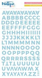Alfabeto Mintopía Básico Puffy Celeste