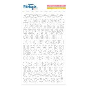 Alfabeto Mintopía Basics Blanco Muérdago de Mintopía