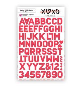 Alfabeto Love Story Rose