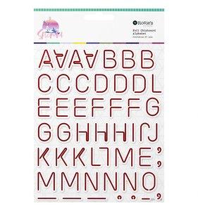 Alfabeto de chipboard Splendid