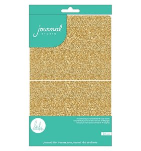 Heidi Swapp Journal Studio Kit Glitter Gold