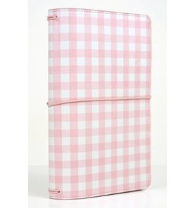 Echo Park Traveller Notebook Pink Gingham