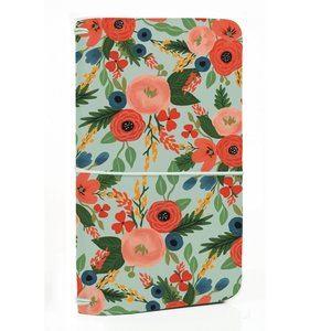 Echo Park Traveller Notebook  Mint Floral