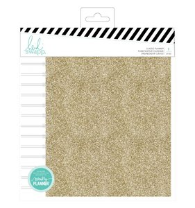 Planner espiral A5 Color Fresh Gold Glitter