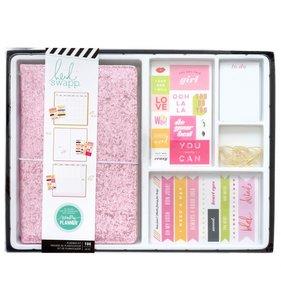 Kit planner tipo midori Color Fresh Pink Glitter
