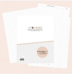 Relleno Kit4Pplanner Bujo para Bullet Journal Sin fechas