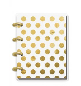 Mini cuaderno Keepsake planner Christmas Gold Dots