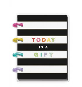 Cuaderno Micro Happy Notes Rayas Today is a gift