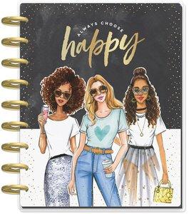 Happy Planner 2020 12 meses Always Choose Happy