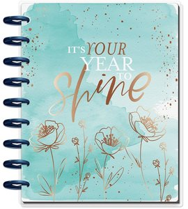 Happy Planner 2020 12 meses Year to Shine