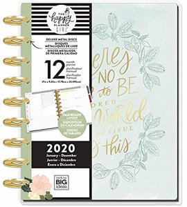 Happy Planner 2020 12 meses Homebody World Theme