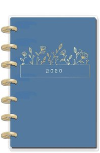 Mini Happy planner 12 meses 2020 Dainty Details