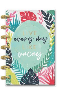 Mini Happy planner 12 meses 2020 Vacation Vibes