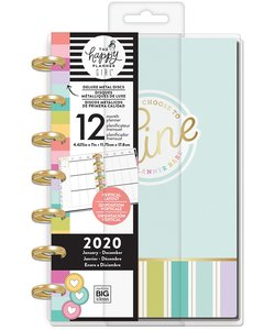 Mini Happy planner 12 meses 2020 Planner Babe Shine
