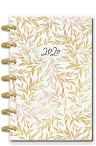 Mini Happy planner 12 meses 2020 Live with Heart