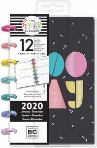 Mini Happy planner 12 meses 2020 Funky Brights