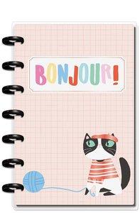 Mini Happy planner 12 meses 2020 Ooh La La
