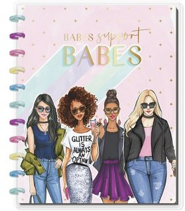 Cuaderno Big Happy Notes Babes Support Babes