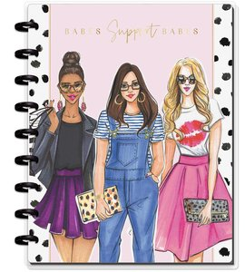 Cuaderno Medium Happy Notes Punteado Babes Support Babes