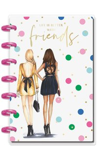Cuaderno Mini Happy Notes Journal Friends