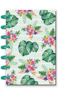 Cuaderno Mini Happy Notes Journal Tropical Vibes