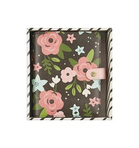 Planner Personal Black Blossom Boxed Set