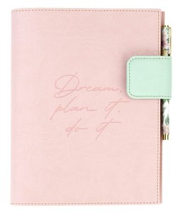 Cover Pink para agenda Tractiman Takenote A5