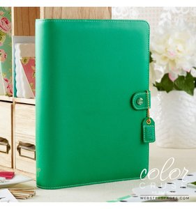 Color Crush A5 Planner Kit - Summer Green