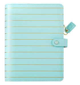 Color Crush A5 Binder - Blue Gold