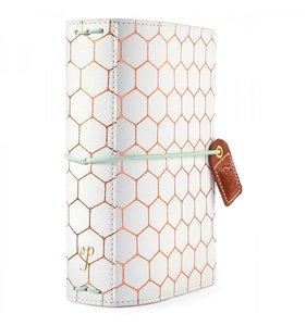 Midori tamaño Passport Copper Hexagon