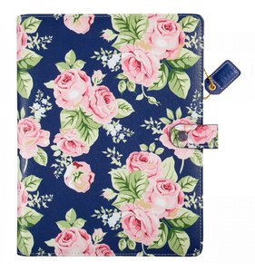 Composition Planner Navy Floral