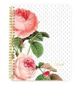 Cuaderno Webster's Calendario Floral sin fechas