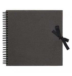 "Álbum para Scrapbook 12x12"" Negro"
