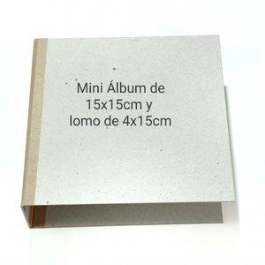 Fridita Set de cartones para montar álbum 15x15 cm